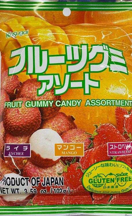 3.59oz Fruit Assorted Gummy
