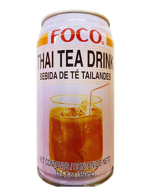11.8oz FOCO Thai Tea Drink