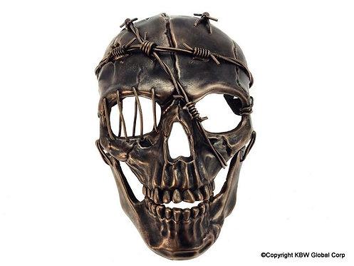 Skeleton Halloween Mask Copper