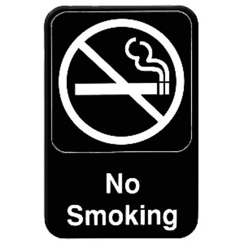 """6"""" X 9"""" , No Smoking"""