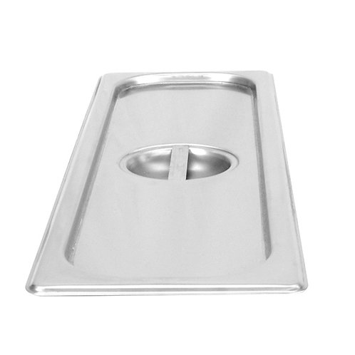 Half Size Long Slotted Cover For Steam Pans