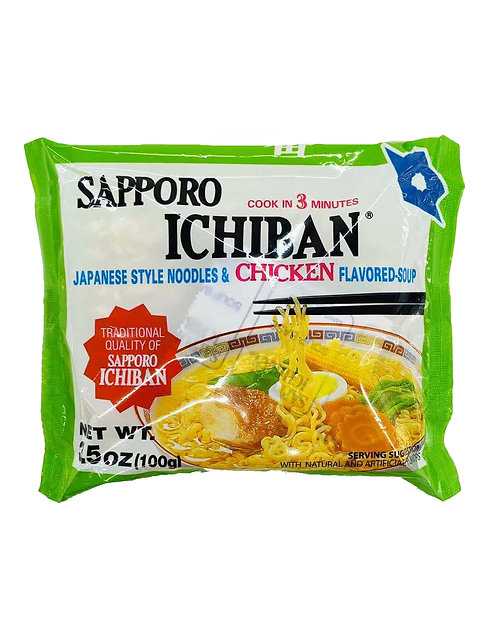 3.5oz Sapporo Ichiban Chicken Noodle