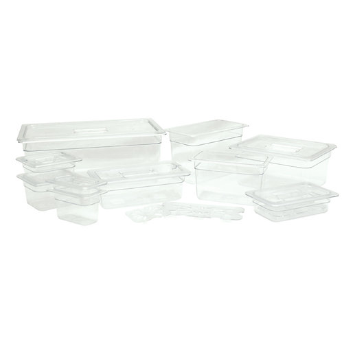 Sixth Size Solid Cover For Polycarbonate Food Pan