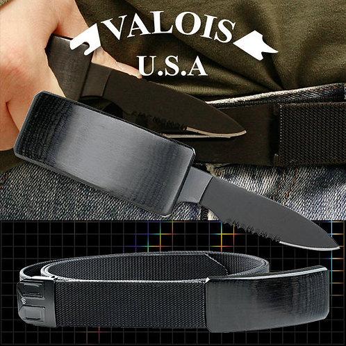 53'' Adjustable Nylon Belt Buckle Knife