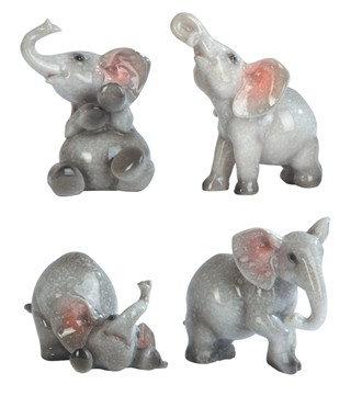 "3"", Elephant 4 PC Set"