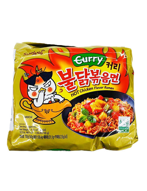 5PC Samyang Hot Chicken Curry Noodle