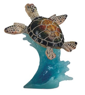 "Sea Turtle Green, 5"" high"