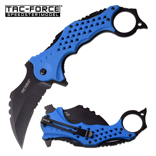 """5.5"""" Closed Spring Assisted Knife"""