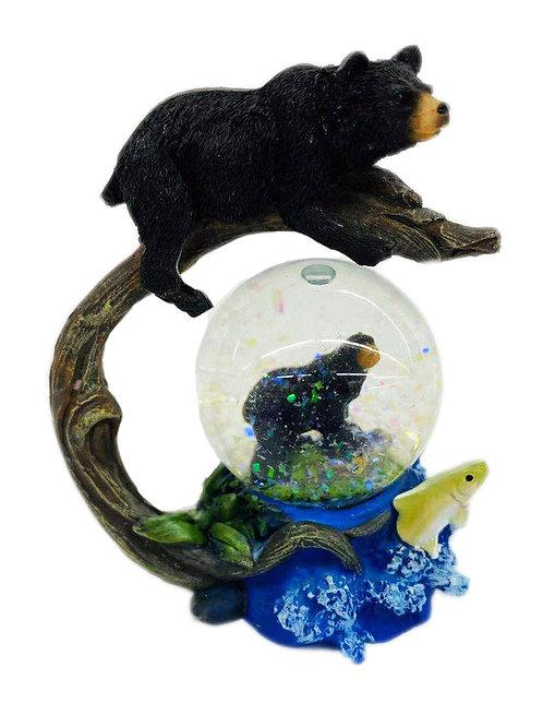 Bear W/ Ball Decor