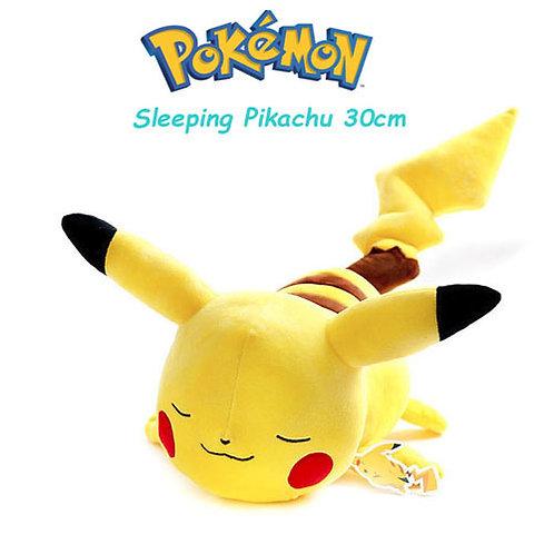 30cm, Pokemon Sleeping Pikachu Plush