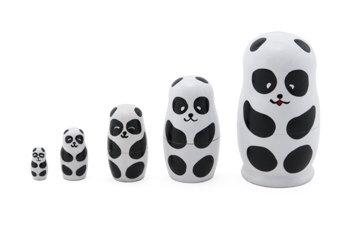"""4.25"""" , Panda Matryoshka Dolls"""