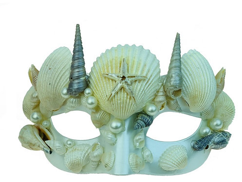 Wild Shell Mermaid Mask