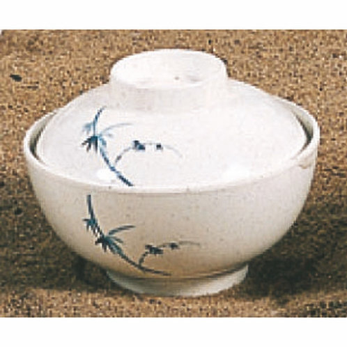 "10 OZ, 4 1/2"" Special Bowl W/Lid, Blue Bamboo"