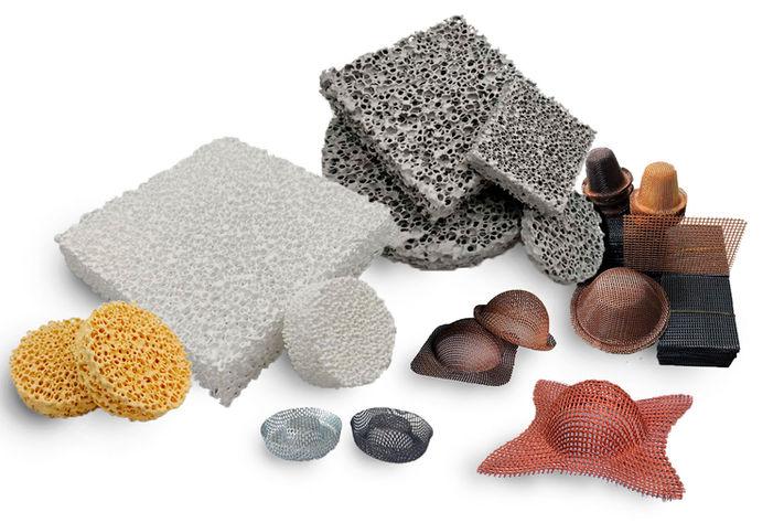 Filtros para fundicion de metales