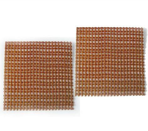Malla filtrante de silica para fundición