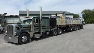 48' Flatbed Trailer with Moffett