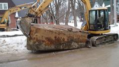 Underground Oil Tank Removal