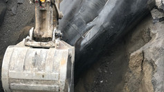 Burried Oil Tank Removal