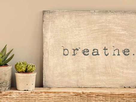 Breathe your way to calm