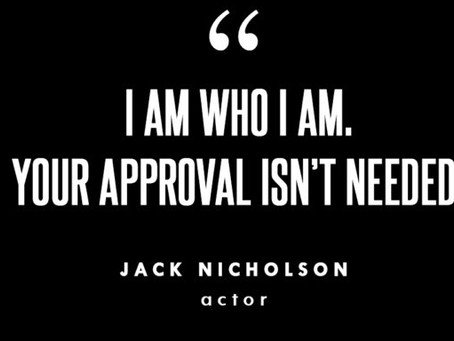 Self affirmations!