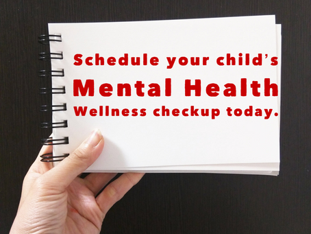 Proactively address your child's mental health before school stress begins. Holistic health include
