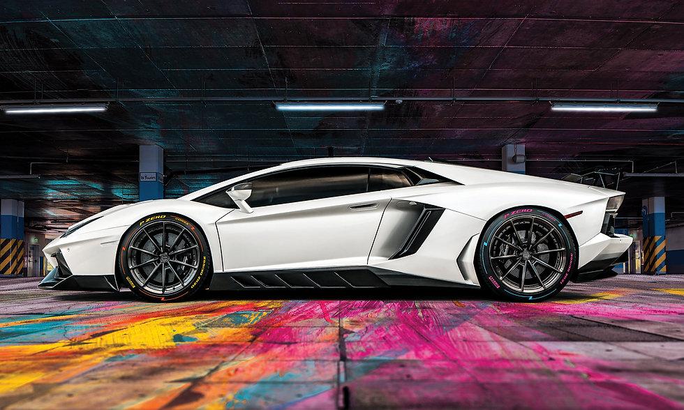 Lamborghini Aventador Pirelli P Zero Cor
