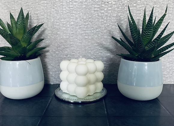 Bobble Candle with candle plate included