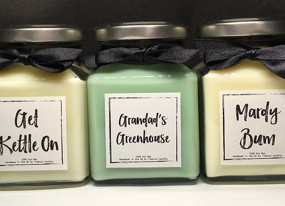 """Luxury """"Yorkshire"""" Timmins Candles  and Wax Bars"""