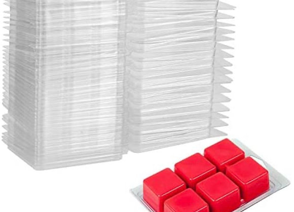 50 x Clamshell Packaging from PET Recycled plastic