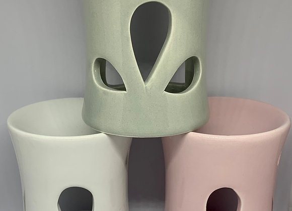 Ceramic Wax Melter / Oil Burner 9cms boxed