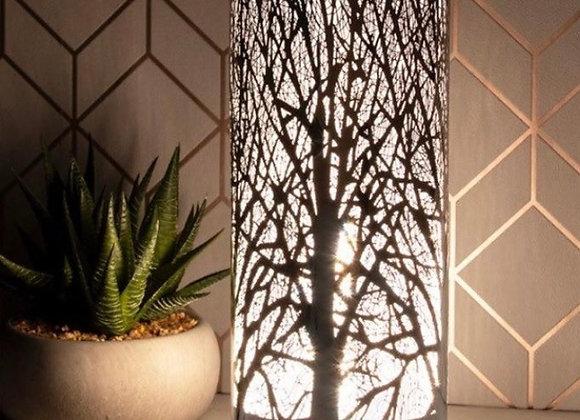 Tree of Life Silver Aroma Lamp
