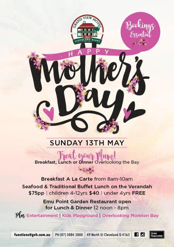 Mothers Day at the Grand View Hotel