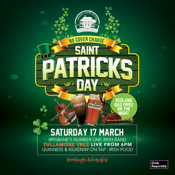 St Patrick's Day - The Grand View Hotel