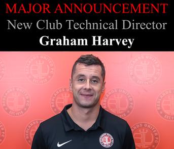 New Club Technical Director - Graham Harvey