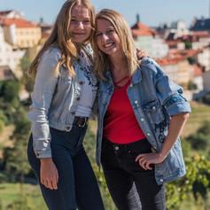 Spolužačky Majda a Kristýna