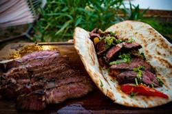 Jack Daniels grilled Steak