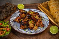Thai-Chicken mit Nashi-Birne