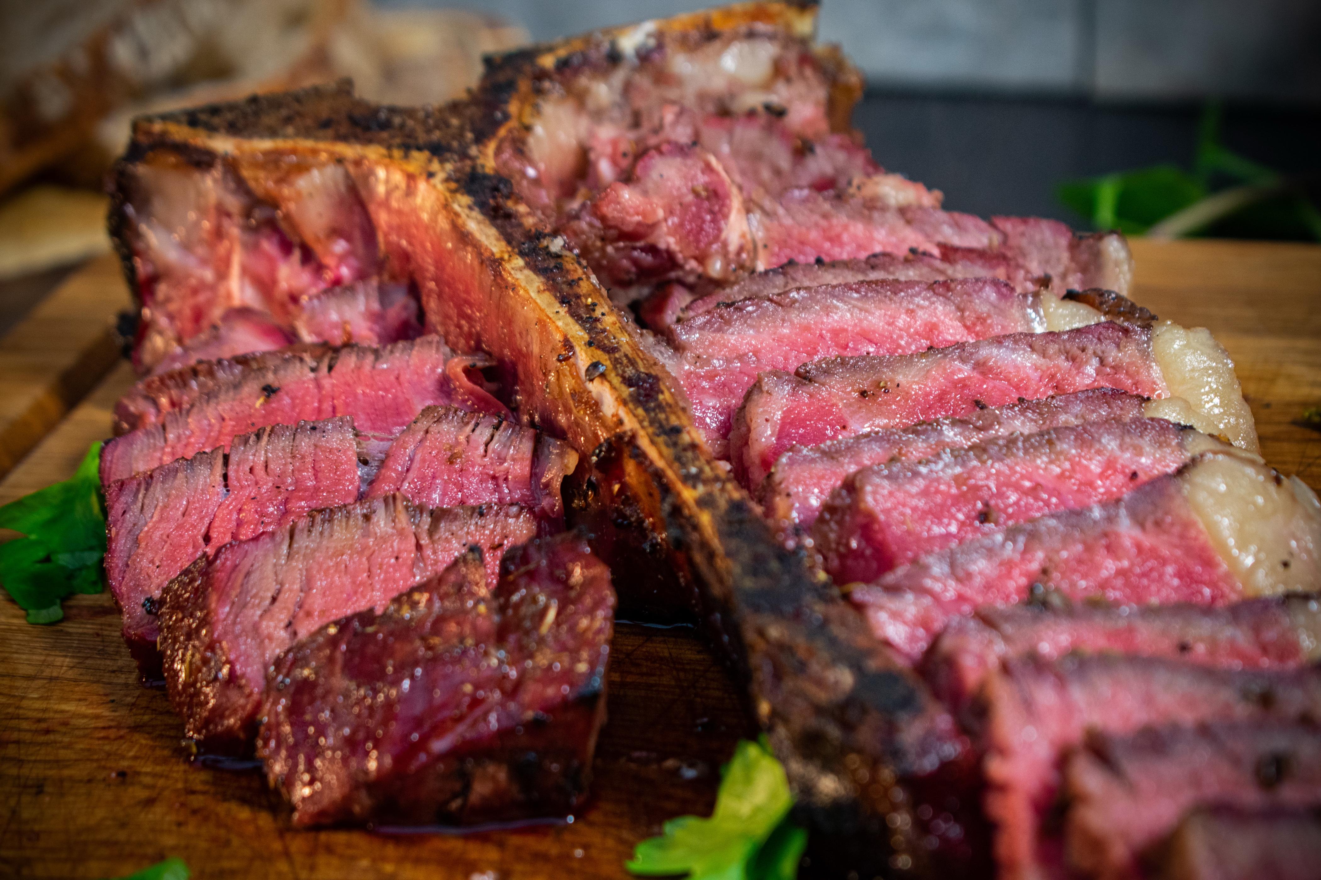 Steak mit Fenchel-Koriander Steak