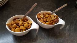 Geräucherte Nüsse