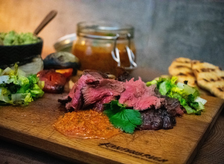Picanha mit roter Chimichurri