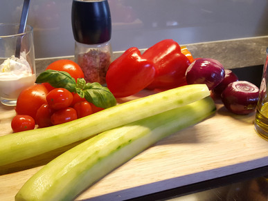 Geräucherte Gazpacho