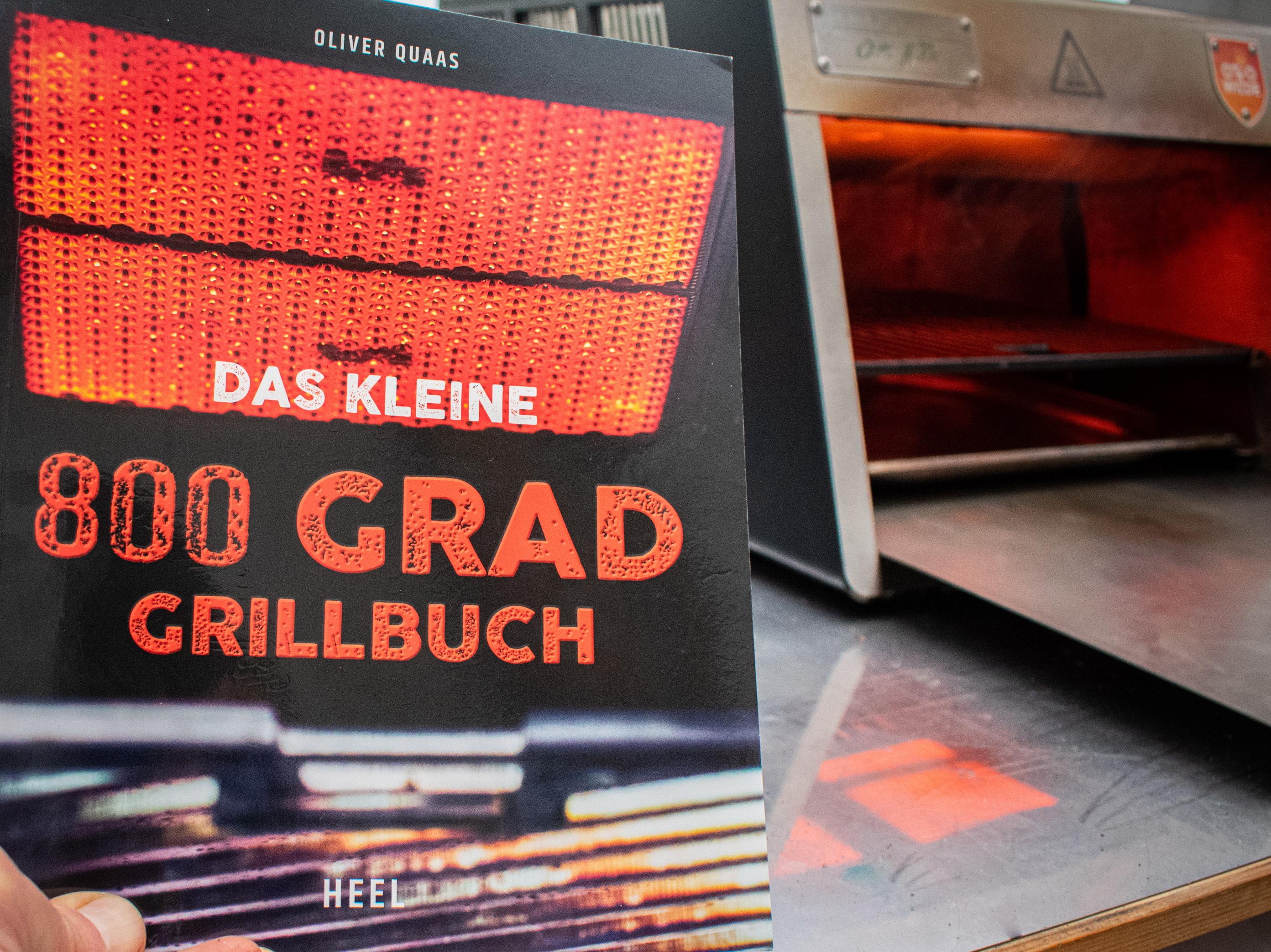 Das kleine 800 Grad Grillbuch