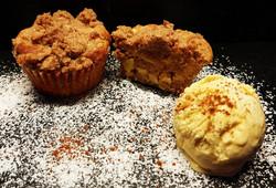 Apfel-Streusel Muffins vom Smoker