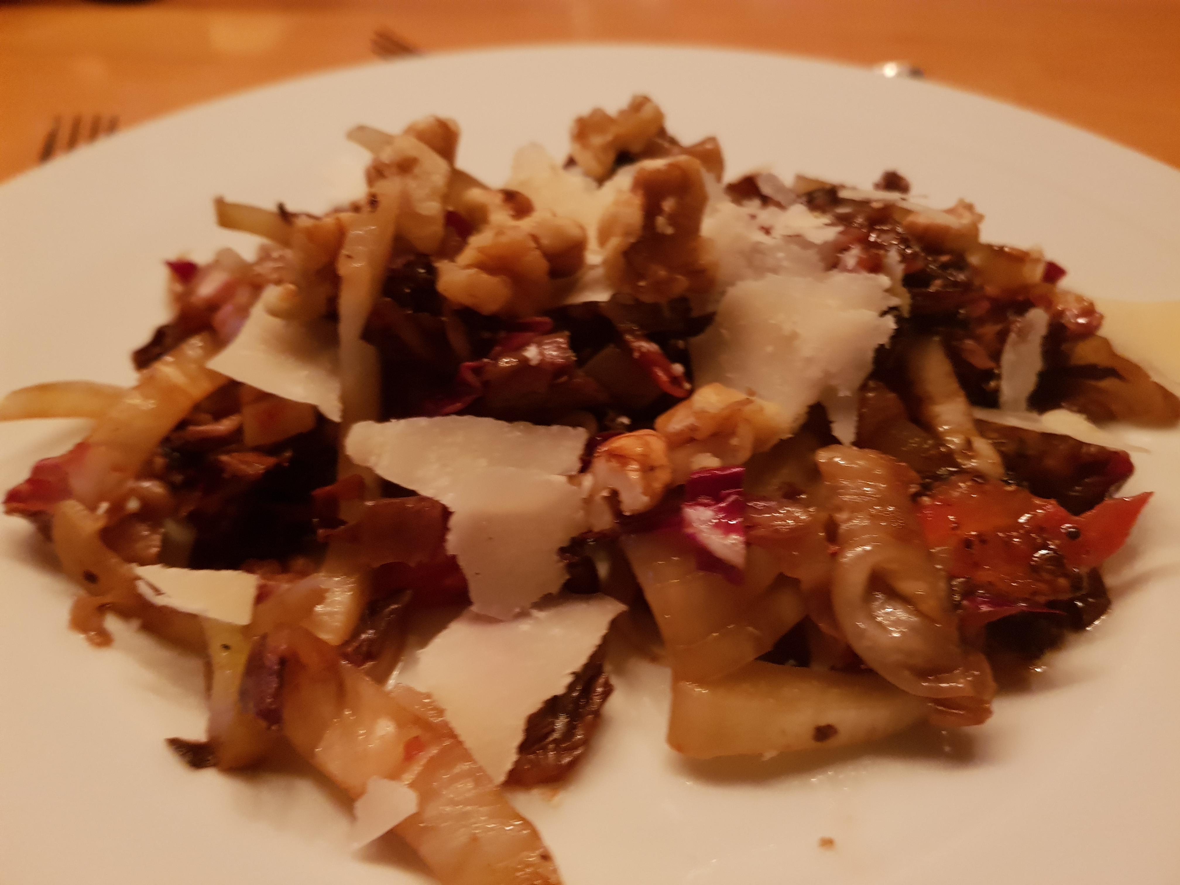 Gegrillter Radicchio-Fenchel Salat