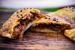 Gesmokte Empanadas mit Pulled Pork