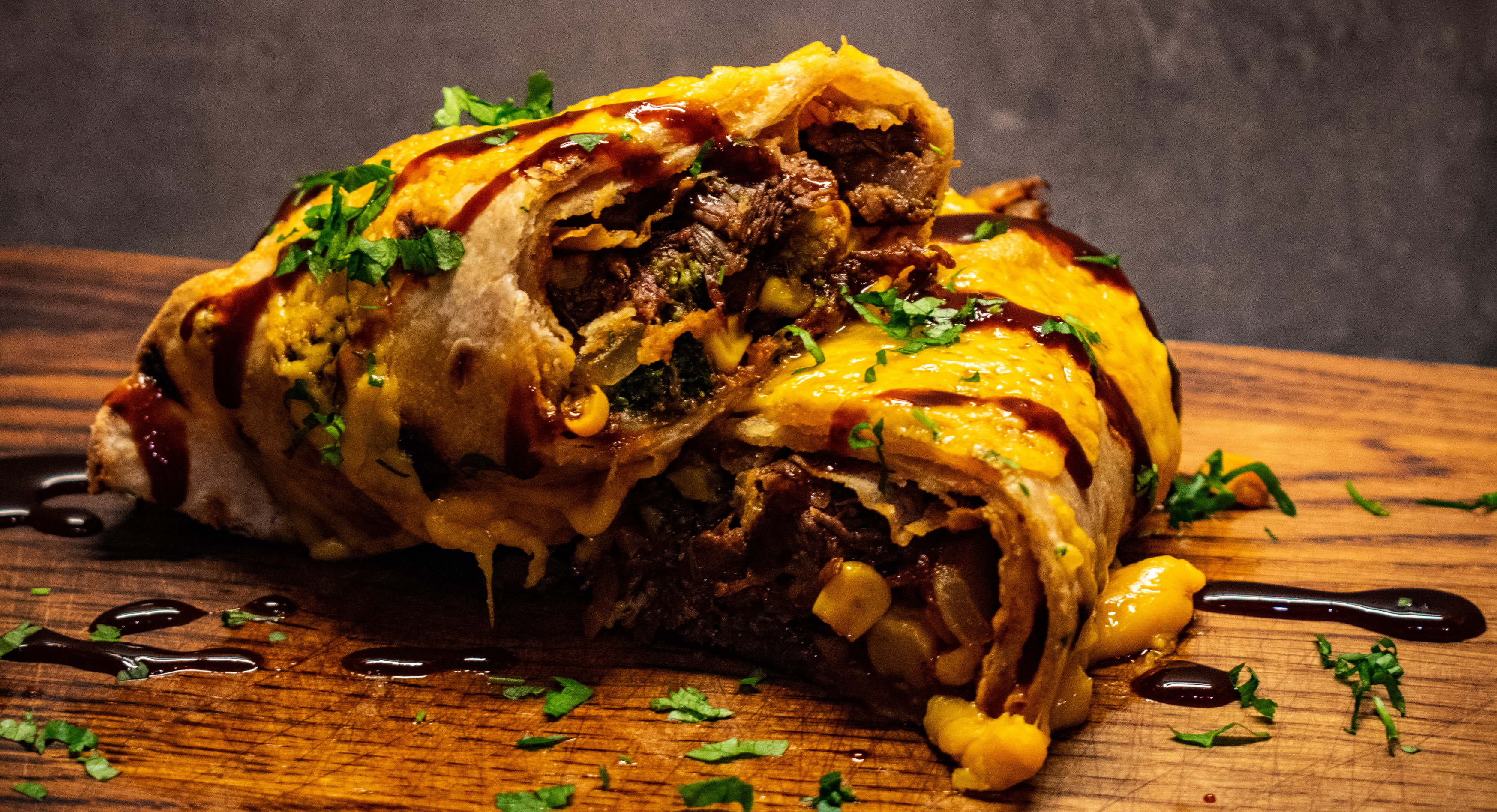 Pulled Beef Burritos