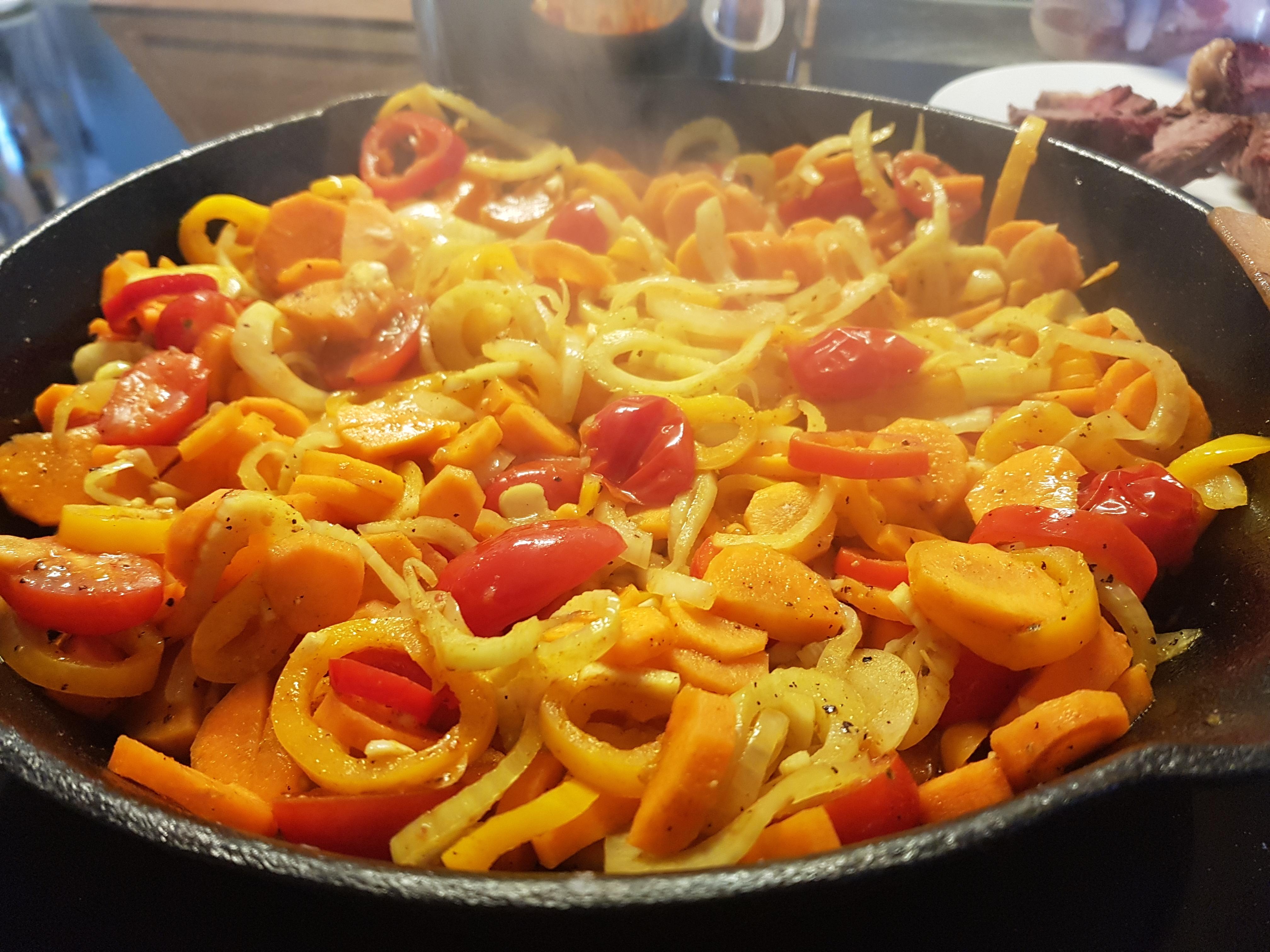 Karotten-Fenchel-Kurkuma Gemüse