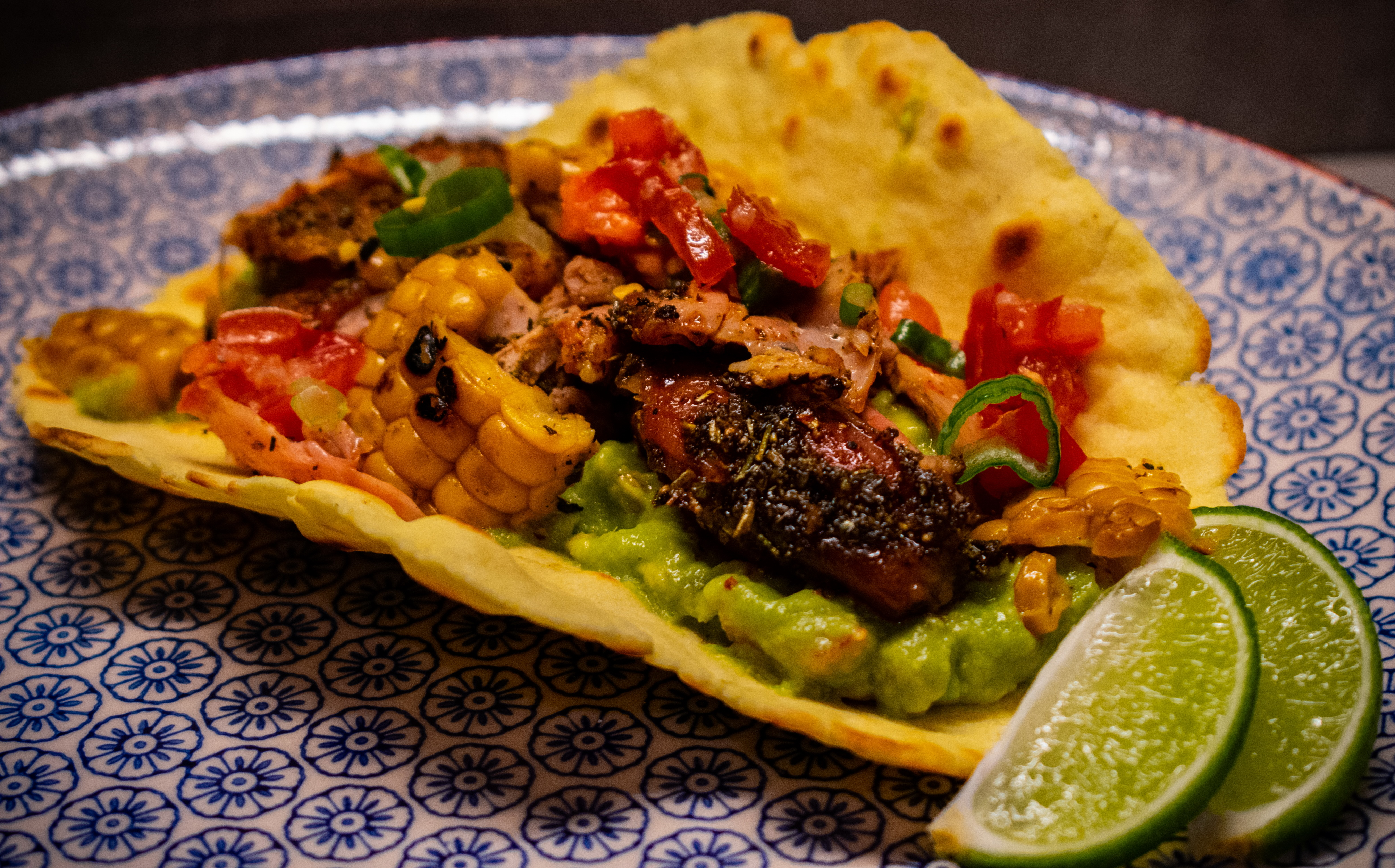 Brined Chicken Tacos