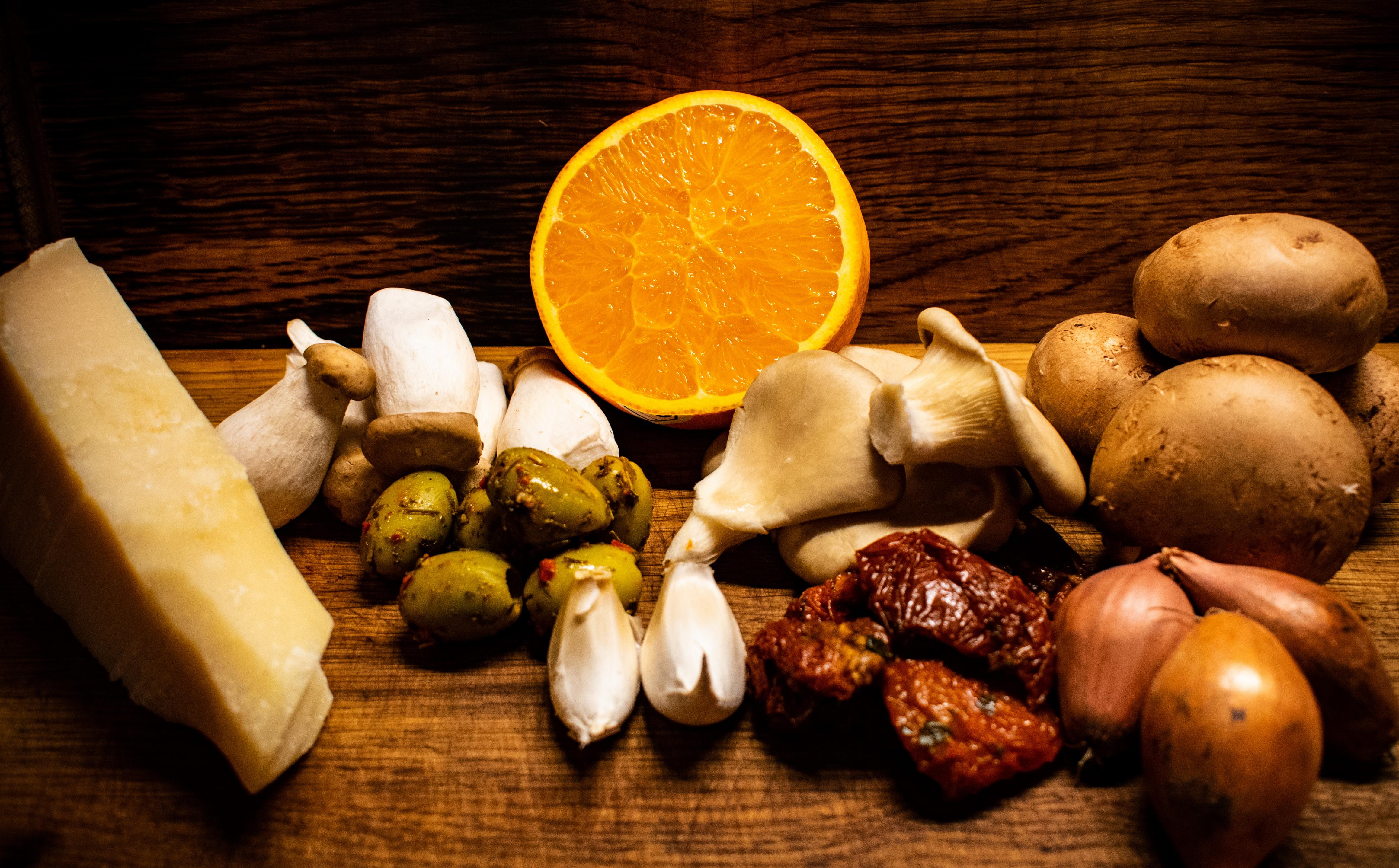 Sommerliche Pilzpfanne aus dem Wok