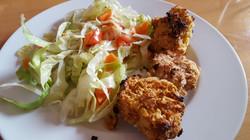 Dreierlei Chicken Nuggets